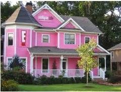 A mi manera pintar la casa de rosado por fuera for Colores para pintar una casa por fuera
