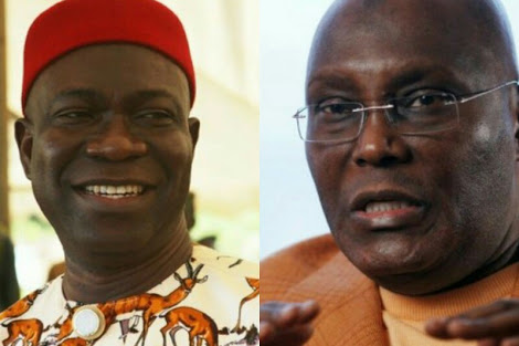 Ekweremadu Gets A Strong Message From Atiku