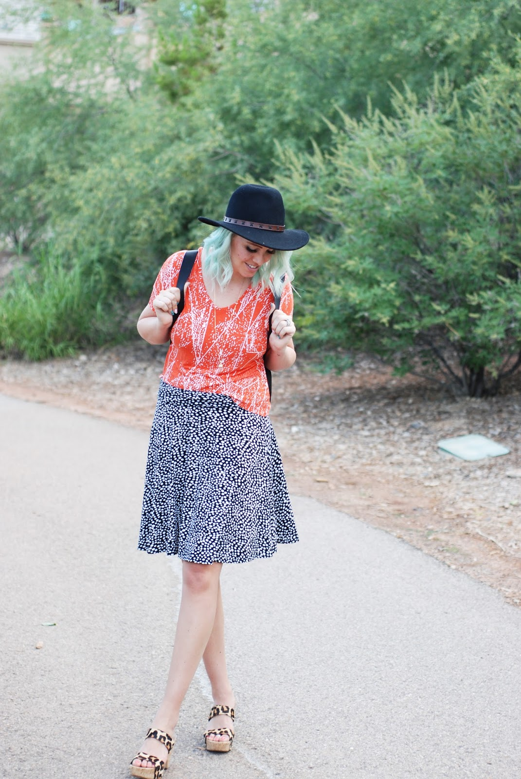 mint hair, utah fashion blogger, thredUP