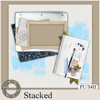 Stacked and newsletter freebie