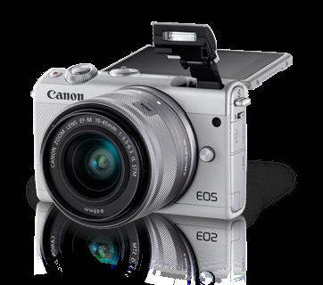 Mirrorless Murah, Kamera Mirrorless, Kamera Canggih, Canon EOS M100, Canon Mirorrless, Canon, Kamera Canon, Kamera ada Wi-fi, Kamera Hasil Jernih, Kamera buat ngevlog, Kamera Baru