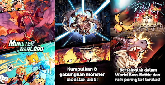 Monster Warlord 3.1.4 APK Free - Game Perang Koleksi Monster