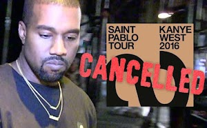 US Rapper Kanye West Cancels His  Next Concert For Being busy With His Fashion Line