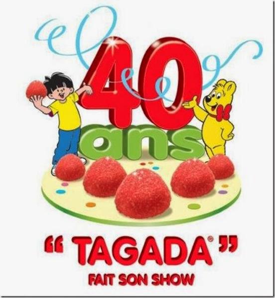 40 années de Fraises Tagada