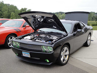 Dodge Challenger GT black hd pics