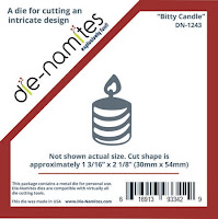 Bitty Candle Die