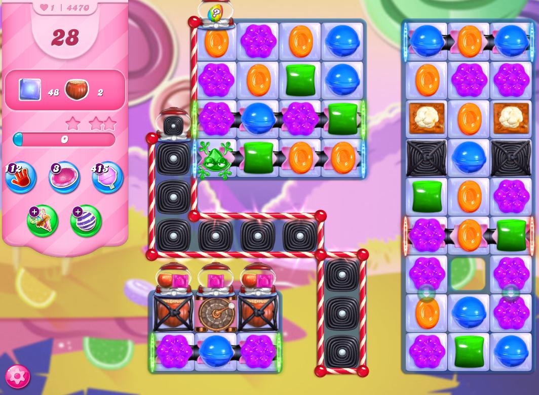 Candy Crush Saga level 4470