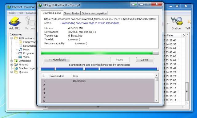 Filenya tidak bisa download