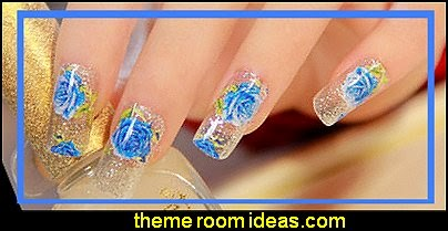 DIY Nail Wraps Polish Stickers Patch Foils Art Decals