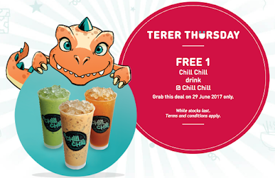 U Mobile Terer Thursday Deal Free Chill Chill Drink