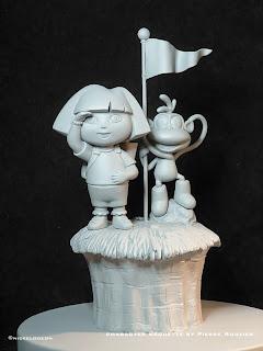 "pierre rouzier_Nickelodeon - ""dora boots"" maquette"