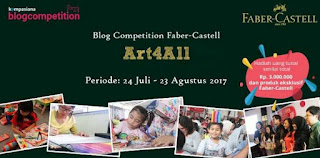 Lomba Blog Faber Castell | DL 23 Agt 2017