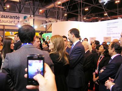 Príncipes Felipe y Leticia. Fitur, round the world, La vuelta al mundo de Asun y Ricardo, mundoporlibre.com