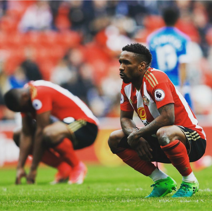 Sunderland 10 year stay in the Premier League comes to an end.