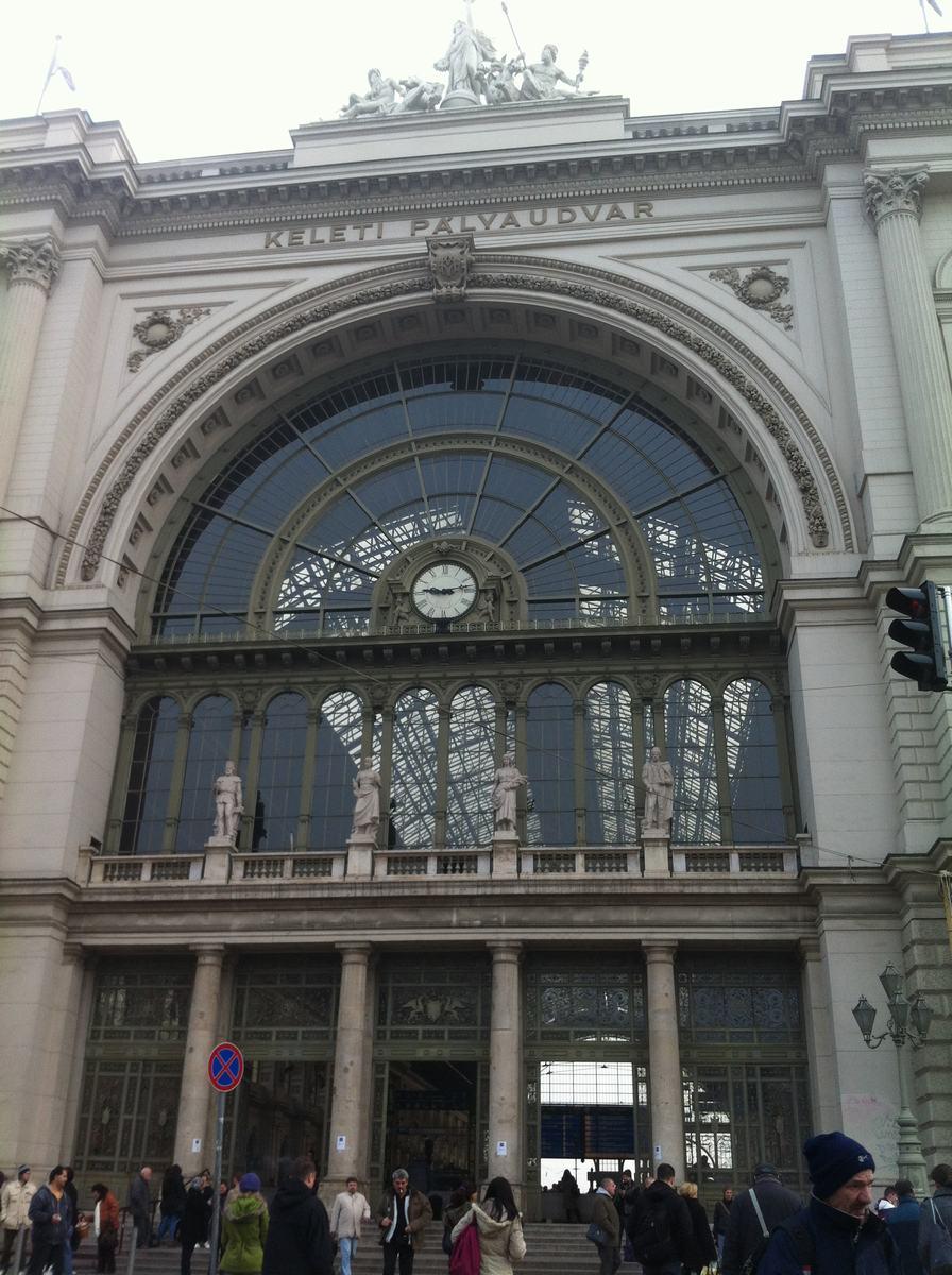 estacion de tren de Budapest, keleti