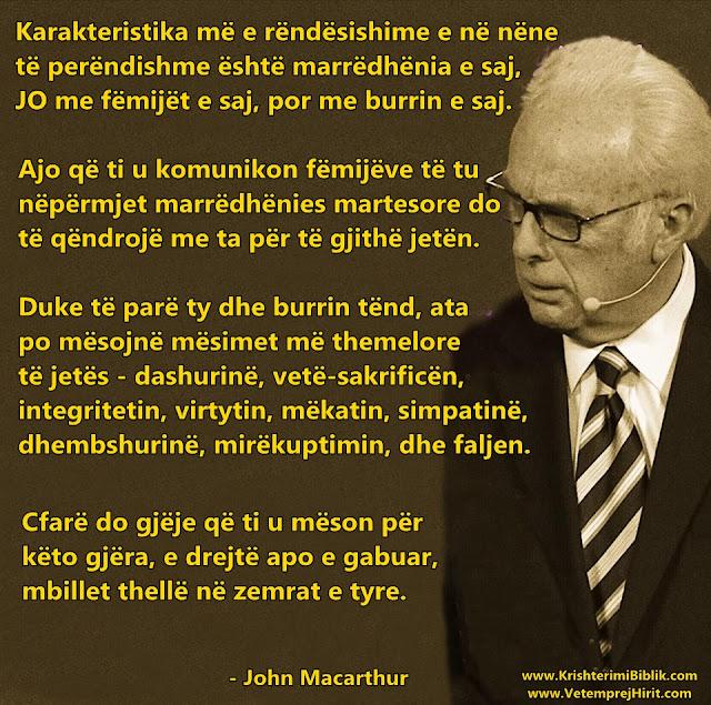 Karakteristika e nje nene te perendishme, familja e krishtere, thenie biblike te krishtera, macarthur shqip,