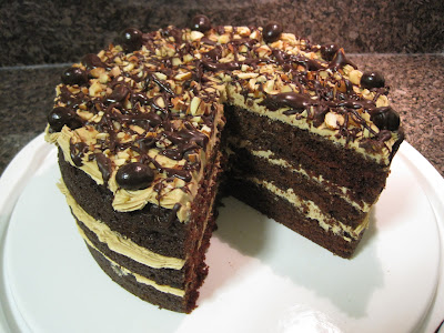 Chocolate Vegan Cake Veega