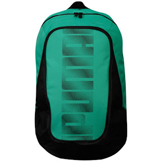 Puma Men's Deck Back Pack - Green/Black