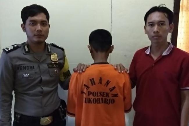 Cabuli Bocah Enam Tahun, Remaja Asal Kalirejo Ditangkap Polisi Pringsewu