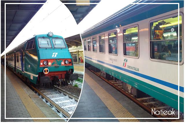 Train Trenitalia à Venise
