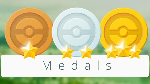 O novo sistema de medalhas chega ao Pokémon GO para incentivar a captura e para facilitar a chegada de criaturas raras.