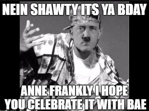 Shine regret, Funny happy birthday meme