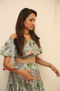Actress Pragya Jaiswal Stills in Floral Dress at turodu Interview  0100.JPG