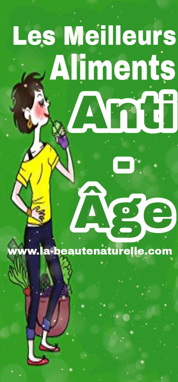 Les meilleurs aliments anti-âge