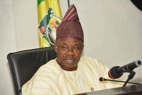 Gov Amosun threatens to dump APC over primaries if they gets him angry