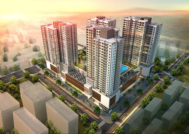 Tổng thể chung cư Eco Dream City