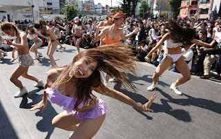 Japanese 67 year ban on public dancing lifted