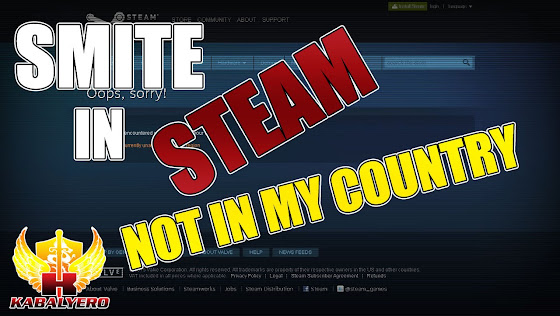 SMITE Is Now In STEAM But It's Unavailable In My Region
