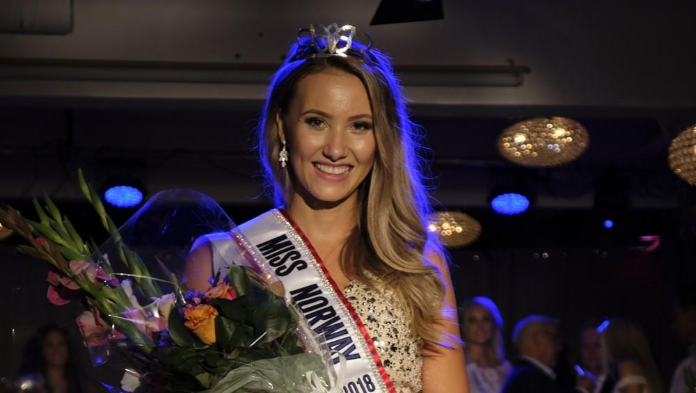 miss universe norway 2018 winner Susanne Næss Guttorm