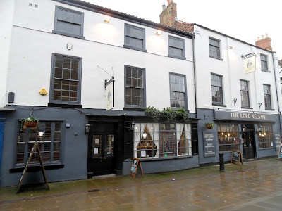 The refurbished Lord Nelson Hotel in Brigg Town Centre which the impressed Town Council is recognising with a civic award - February 2019