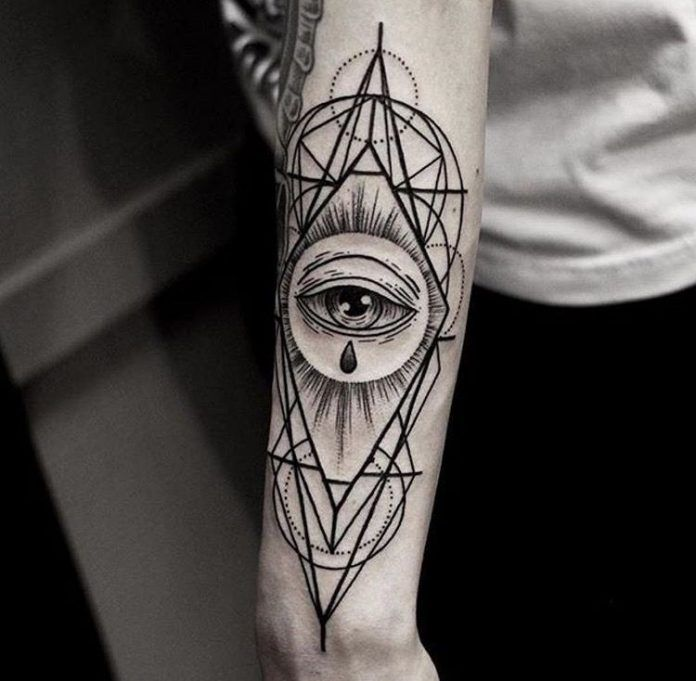 All Seeing Eye Tattoo: 95+ Illuminati All Seeing Eye Tattoo Meaning & Designs For