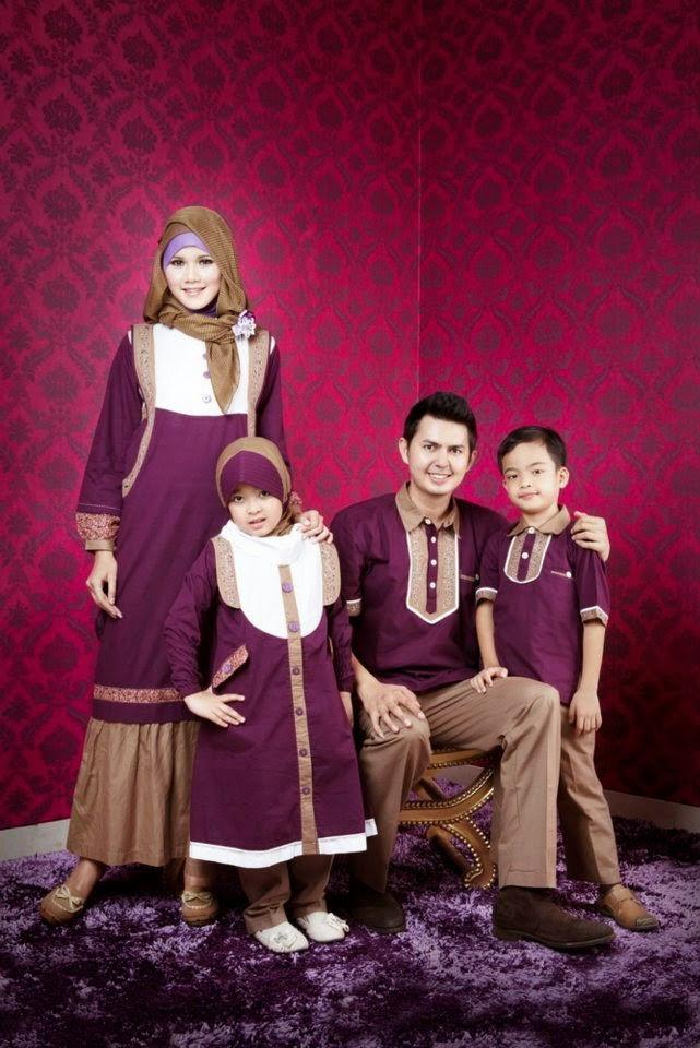 Contoh Pose Keluarga Busana Muslim Bfup