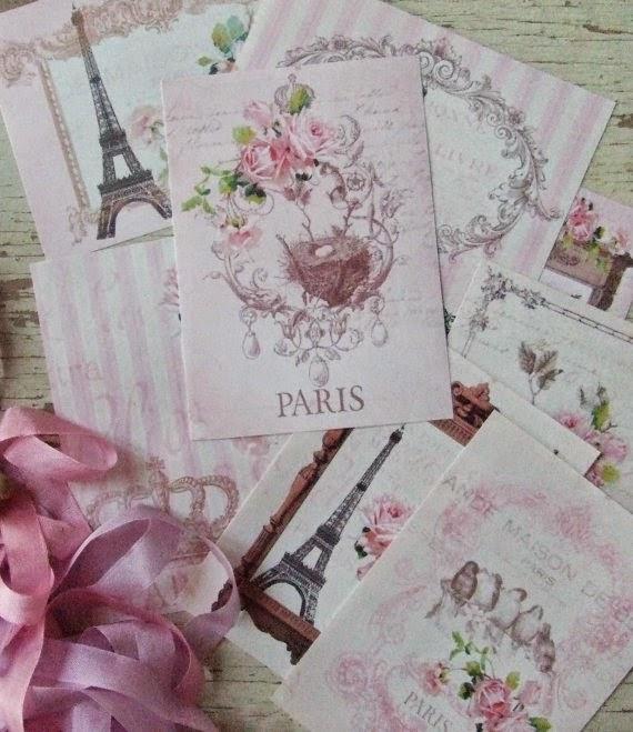"""il_570xN.262631181 Partecipazione """"Paris""""Tema Parigi"""