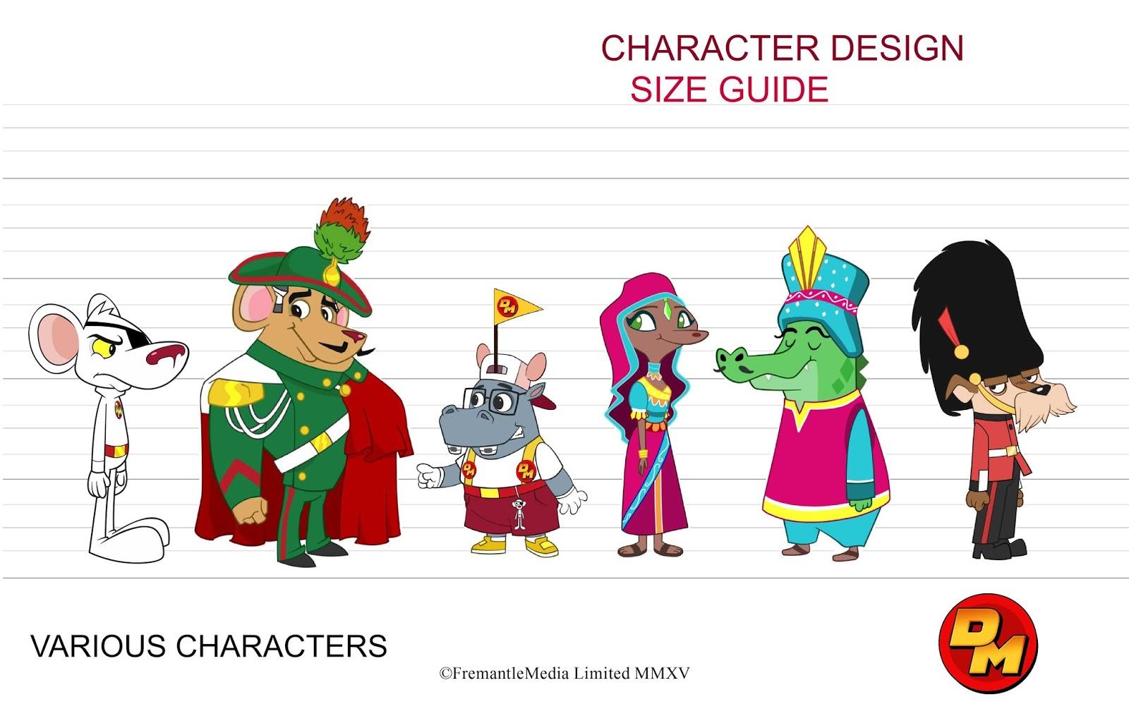 Shane Cooney Danger Mouse Character Design