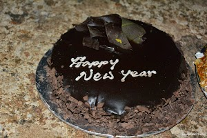 Death by chocolate, new year cake