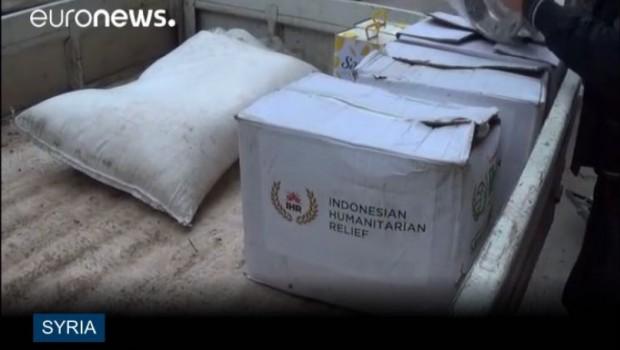 Bantuan Indonesia ke Aleppo Lari Ke Tangan Pemberontak, Sontak Netizen Heboh!
