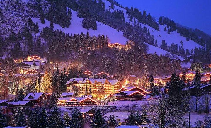 kış tatil bölgesi resimleri