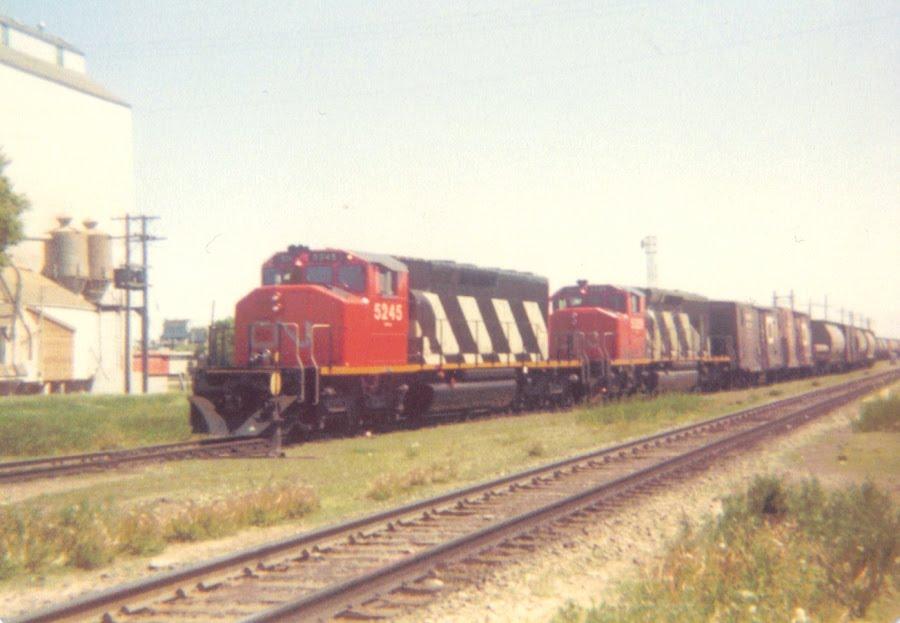 Trackside Treasure A Day At Portage La Prairie 1982