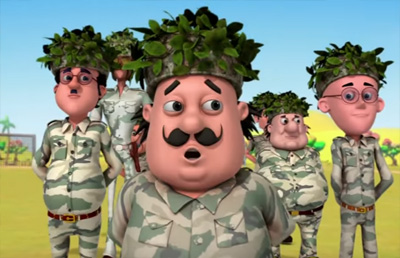 Commando Training – Motu Patlu in Tamil