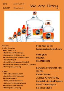 Sariguna Primatirta Tbk (CLEO)