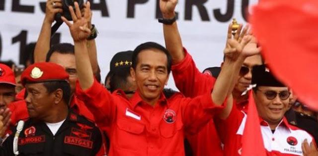TwitPol RMOL: Jokowi Digembosi Bekas Pendukung