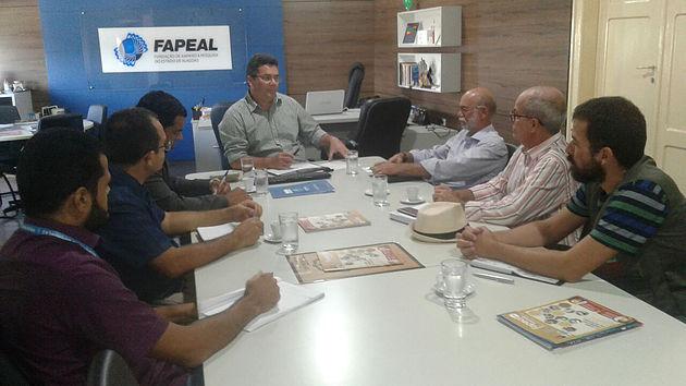 Secretários de Delmiro Gouveia se reúnem com Fapeal para implantar projeto Agricultura Peri-urbana