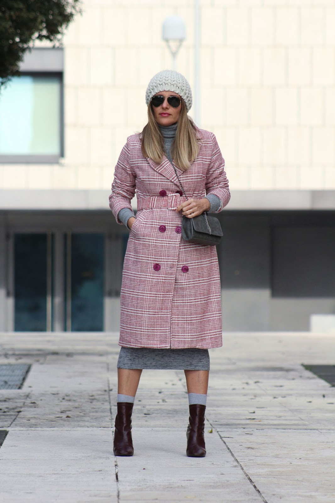 Outfit - Come indossare un check coat - Eniwhere Fashion