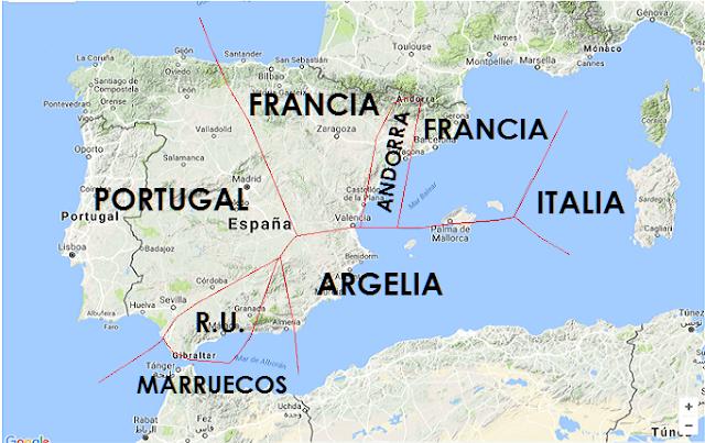 país más cercano a España