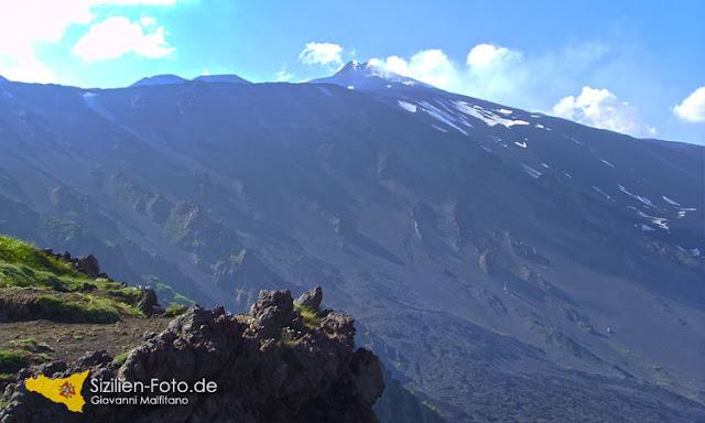 Etna Hauptkrater und Valle del Bove