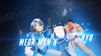 Mega Man X e Ryu